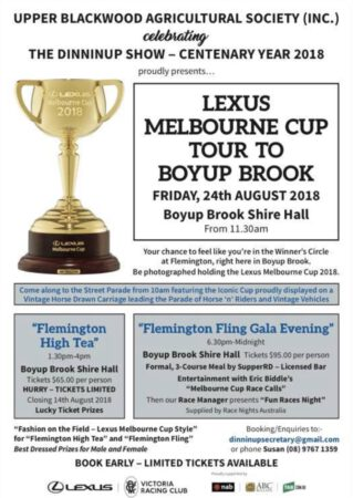 Lexus Melbourne Cup Tour Boyup Brook Photographer