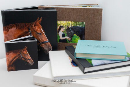 Stunning premium quality horse photography albums for horse lovers