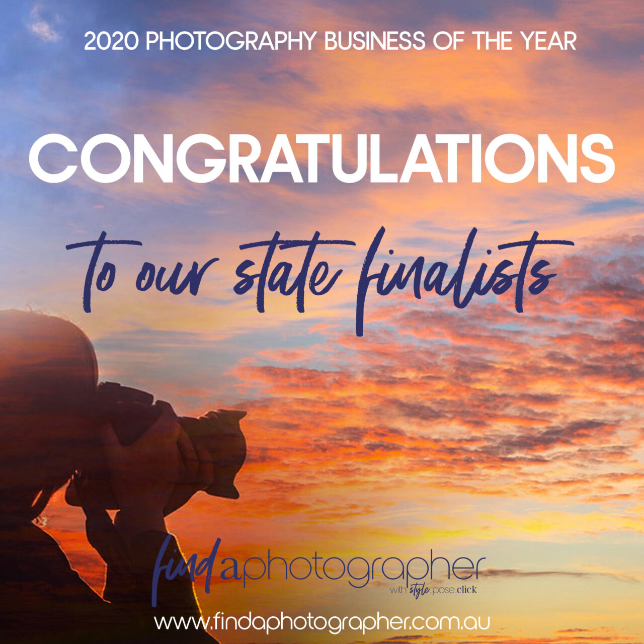 State Finalist for Photography Business of the Year