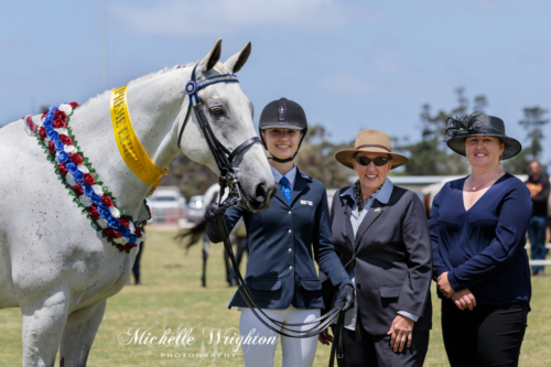 Katanning Agricultural Show In Hand Supreme winner